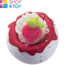 PICK YOUR OWN BATH BLASTER BOMB COSMETICS STRAWBERRIES CREAM HANDMADE NATURAL