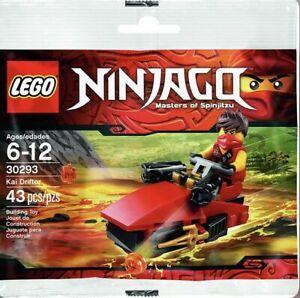 Lego 30293 NINJAGO Kai Drifter Polybag Rare Discontinued Collectable