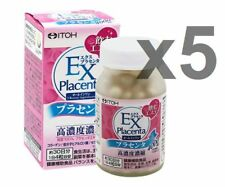 Lot5! Itoh Kampo EX Placenta 120 tablet (30day) x 5bottles = total 150days