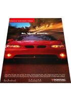 1997 Pontiac Grand Prix 2-page - Vintage Advertisement Car Print Ad J406