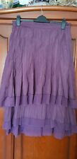 Women Aubergine Skirt by BOHEMIA  size L