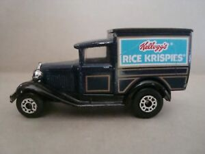 1979 Matchbox 1:64 Scale Kellogg's Rice Krispies Promo Model A Truck Thailand