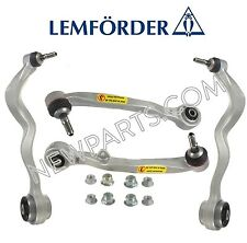 For BMW E60 Front Lower Rearward & Foward Control Arms+Ball Joint & Bushings OEM