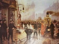The Fire Brigade Turn by Paul Fischer Artwork by Selby Prints