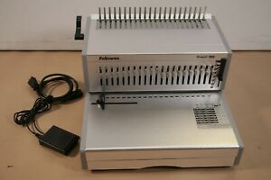 Fellowes Orion E 500 Electric Comb Binding Machine - crc56432