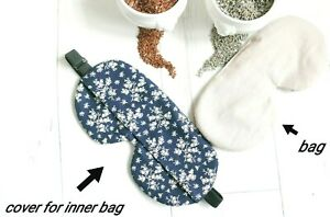 Removable Inner Bag, Weighted Sleep Mask, Branch, Washable, Lavender Flax