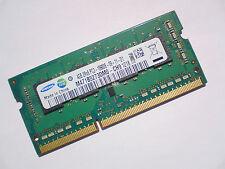 4GB DDR3-1333 PC3-10600 SAMSUNG M471B5273DM0-CH9 LAPTOP SODIMM RAM SPEICHER