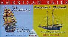Glencoe 3303 - 1/400 & 1/250 - Sailing Ships Constituion,Gertrude L.Thebaud