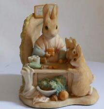 Border Fine Arts ~ Beatrix Potter ~ MRS RABBIT AT WORK ~ Original Tin ~ BP11