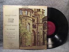 33 RPM LP Record W. A. Mozart Sinfonia Concertante In Eb Baroque Records BUS2824