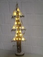 Deko Holz Tannenbaum Advent Dekoration LED Batterie Weihnachtsdeko Weihnachten