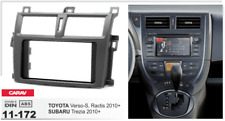 Carav 11-172 2din marco adaptador Toyota Verso-s Ractis Subaru Trezia 2010