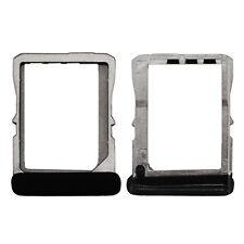 Carrello vassoio metallo micro-sim porta scheda sim per HTC ONE X S720e G23 nero