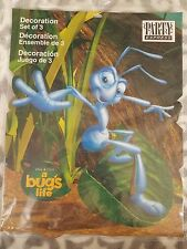 A Bug's Life Disney Pixar Paper Die Cut Birthday Decorations Party Express NIP