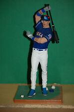 Mcfarlane MLB 25 Josh Hamilton Texas Rangers batting circle statue figurine