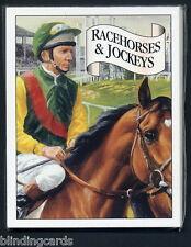 RACEHORSES & JOCKEYS Collectors Card Set - Nijinsky Dancing Brave Lester Piggott