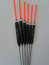 HAND MADE POLE FISHING FLOATS - RIZOV RF74 - 6 PCS.-1x0.2/0.3/0.4/0.6/0.8/1 GR.