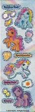 Sandylion Glittery Retired My Little Pony Rainbow Dash Stickers 1 strip