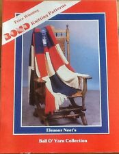 Eleanor Neet's Ball o' Yarn Pattern Book for Bond, USM, Ultimate sweater machine
