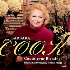 Count Your Blessings by Barbara Cook (CD) dead at 89 rare Christmas/Faith ooP)