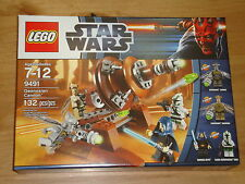 New! Star Wars Lego 9491 Geonosian Cannon MISB