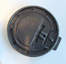 "Lost Wax Cast Bronze  ""Coffee Cup Cover"" Decorative Sculpture Paperweight"