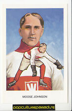 ERNEST MOOSE JOHNSON NHL Hockey HALL OF FAME POSTCARD