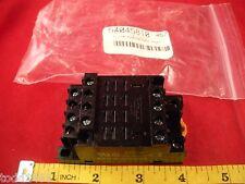 Omron PTF14A-E Relay Socket 14 blade pin 2727H max. 10a amp 240v track mount LY4