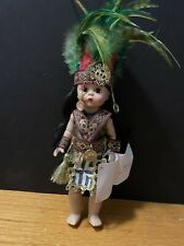 """New ListingMadame Alexander 8"""" Mexico Rare Mexican Indian Doll #50450 in Box"""