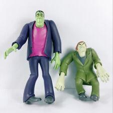 2pcs Hanna-Barbera Scooby Doo Frankensteion & Green Creeper Figure Toy Xmas Gift