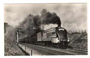 Flying Scotsman - Hauled by Dominion of New Zealand Real Photo Postcard 1950s