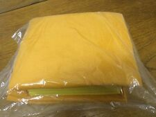 4X large 6X small pads Microfibre orange yellow Cleaning Auto Car Detailing C…