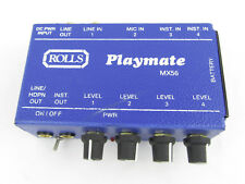 Rolls Playmate Mx56 Mixer - Demo, Free Shipping