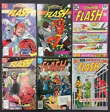 Flash Comic Books (Lot of 6) Vintage 1972-81