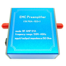 PGA-103+ Low Noise EMC EMI 50M-4GHz Magnetic Probe Signal Amplifier Preamplifier