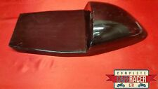 LARGE CAFE RACER SEAT NEW & UNUSED T-BACK STYLE IN BLACK