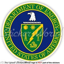 US DEPARTMENT of ENERGY Seal DOE United States USA American Vinyl Sticker Decal