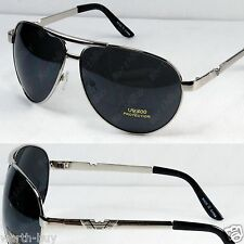 New Metal Frame Classic Mens Sunglasses Shades Fashion Silver Designer Pilot