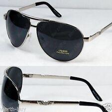 New Metal Frame Classic Mens Sunglasses Shades Fashion Silver Designer Pilot