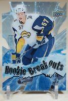 Tyler Myers 2009-10 Upper Deck ROOKIE BREAKOUTS DIE CUT /100 Sabres Vancouver SP