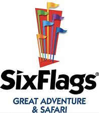 Six Flags GREAT ADVENTURE NJ $28 TICKET DISCOUNT SAVE PROMO $9 PARKING + HARBOR