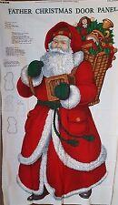 "FABRIC - CRANSTON SANTA ""FATHER CHRISTMAS"" PANEL CRAFT MATERIAL"