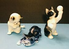 The Danbury Mint Cats of Character Figurines – Set of 3 Kittens