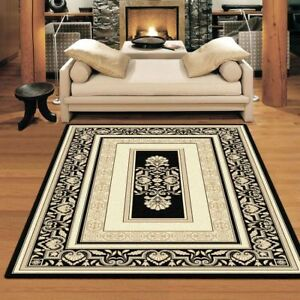 New Palace Elegant Collection Fine Soft Floor Rug Carpet All Sizes