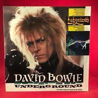"DAVID BOWIE Underground 1986 UK 12"" vinyl single EXCELLENT CONDIT Labyrinth  A"