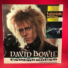 "DAVID BOWIE Underground 1986 UK 12"" vinyl single EXCELLENT CONDIT Labyrinth  A"