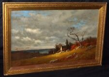 19C American East Coast Oil Painting by James Renwick Brevoort (1832-1918)(PaS)