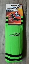 Brine Sock-R Soccer Shin Guard Air Cooled Design Green Med. Ankle Support New