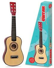 "23"" Children Kids Wooden Acoustic Mini Guitar Metal Strings Musical Instrument"
