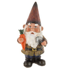 Gnome With Carrot And Shovel